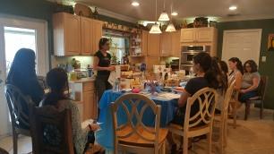 Jana teaching..